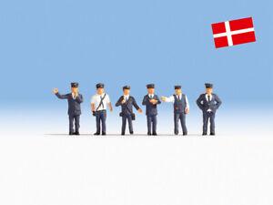 Noch 15274 Danish Railway Officials H0 Modélisme