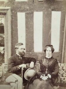 CDV Of a Couple By John Owen Of Newtown, North Wales