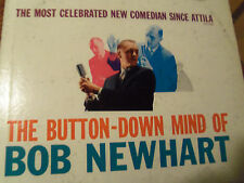 "Bob Newhart ""The Button-Down Mind Of"" Original 1960 Vinyl LP Warner Brothers"