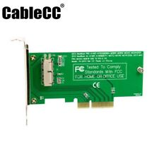 USA PCI Express PCI-E to 2013 Apple Macbook Pro Air SSD Card for A1493 A1465