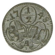 Erzbistum Salzburg Dietrichstein 1/2 Kreuzer 1748 A45954