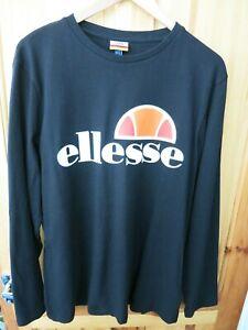 Black /& Orange BNWT Ellesse Aprel T-Shirt