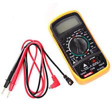 Digital Multimeter Messgerät Transistor Neuware Strommessgerät incl. 9V Batterie
