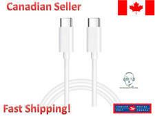 OEM Quality USB-C to USB-C Charger Cable for Apple for iPhone iPad Macbook 1M