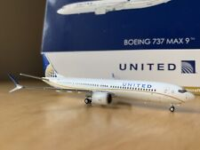 Gemini Jets 1:400 Scale United Airlines Boeing 737 MAX 9 GJUAL1784