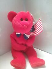 TY Beanie Baby - THOMAS the Bear (8.5 inch) - MWMTs Stuffed Animal Toy