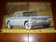 1960 CHEVROLET CORVAIR  - ORIGINAL 2007 ARTICLE