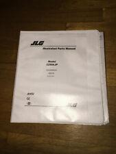 Jlg boom parts maintenance Manual 1250 Ajp equipment technician book