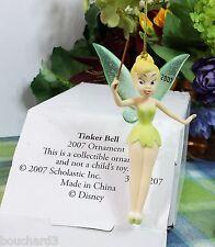 Disney Grolier Tinkerbell Porcelain ornament 2007