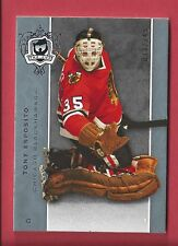 2007-08 Upper Deck The Cup #77 Tony Esposito Chicago Blackhawks Hockey Card