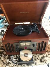New listing Crosley Cr704d-pa Musician 3-speed Turntable With Radio Cd/cassette Player