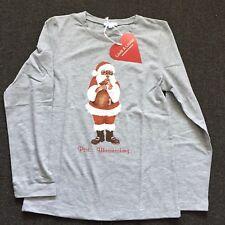 Louis & Louisa Shirt Longsleeves  gr 152/158  Nikolaus Weihnachtsmann Neu