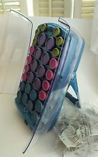 BABYLISS PRO NANO TITANIUM CERAMIC IONIC HAIR HOT ROLLERS 30 ROLLER SET + CLIPS