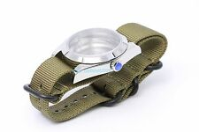 40mm explorer case Nylon strap ETA or clone 2836-2 automatic movement NEW