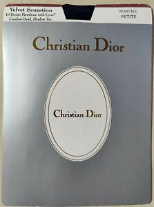 CHRISTIAN DIOR VELVET SENSATION PANTIHOSE SIZE  PETITE. RRP:$59.95
