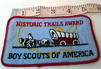 Historic Trails Award Pioneer Patch Boys Scouts of America BSA