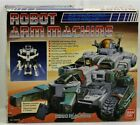 ROBO MACHINE ROBOT ARM MACHINE VWS-01 - BANDAI 1984
