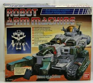 ROBO MACHINE ROBOT ARM MACHINE VWS-01 - BANDAI 1984