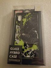 """NIB Marvel Comics """"Glass"""" Hybrid Phone Case For IPhone XR -Paint Splatter design"""