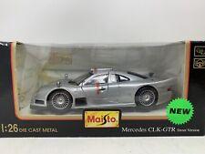 Maisto Mercedes CLK-GTR Street Version 1:26 Diecast - Silver