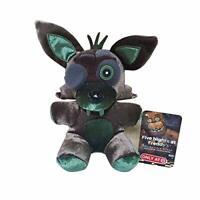 """Five Nights at Freddy's Black Foxy FNAF Plush Toy Stuffed Doll 6"""""""
