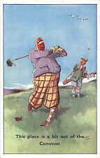 POSTCARD  COMIC   GOLF   Related....  This place is a bit out of the Common