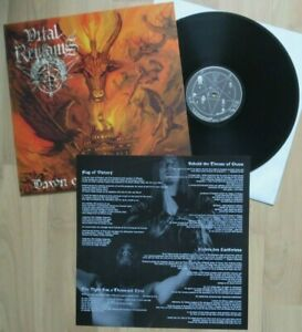 VITAL REMAINS - DAWN OF THE APOCALYPSE - OSMOSE 1ST PRESS 1999 - MIT INSERT!