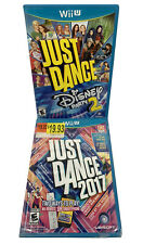 Just Dance Disney Party 2 USED & 2017 New & Sealed (Nintendo Wii U) Complete