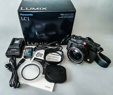 Panasonic Lumix Dmc-Lc1-K Digital Camera with Box, Documents, accessories Ln+