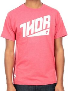 THOR ASCEND TEE RED HEATHER MENS