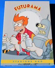 FUTURAMA STAGIONE UNO 1 COMPLETA COFANETTO 3 DVD ITALIANO