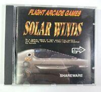 Solar Winds - Explore the World of Software Flight Arcade Games SHAREWARE PC CD