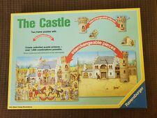 Vintage Ravensburger puzzle, The Castle, children, kids, two frame puzzle