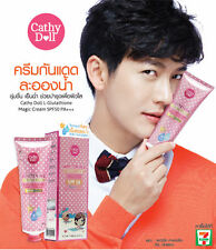 Cathy Doll L-Glutathione Cream Whitening Sunscreen Pore Tightening SPF50 - 60ml.