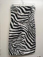 Express Zebra Print Dress, Size 6