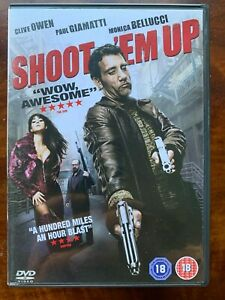 Shoot 'em Up DVD 2007 Action Movie w/ Clive Owen and Monica Bellucci