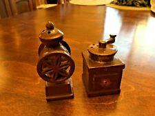Salt & Pepper Shakers as shown set 2 Coffee Grinder
