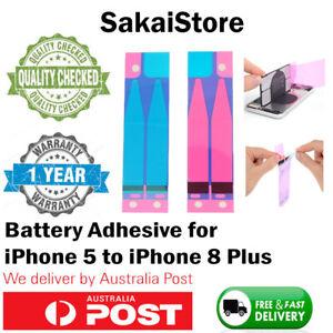 iPhone 5 5s 6 6s 7 8 plus X XS MAX XR 11 PRO Battery Adhesive Sticker Glue Strip