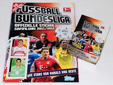 TOPPS BUNDESLIGA FUSSBALL 11/12 2011/2012 – DISPLAY BOX 50 Tüten + ALBUM