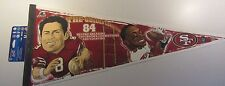 "New WinCraft San Fransisco 49ers The Golden Connection 30"" Pennant"