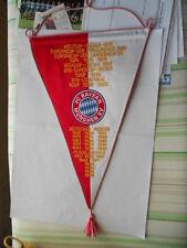 gestickter Wimpel FC Bayern München letzter Eintrag Deutscher Meister 1999 top