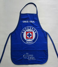 Unisex's Cruz Azul Apron, New Blue White Red Mandil BBQ Cooking La Maquina FMF