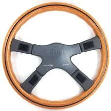 Genuine Italvolanti Wood & Pickett 380mm wood steering wheel. RARE!!     7B
