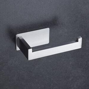 Toilettenpapierhalter Edelstahl Klorollenhalter Klopapierhalter Ohne Bohren Neu
