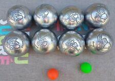 8 Boules de pétanque Obut ASTERIX