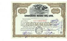 Canadian Husky Oil Company stock #MF7857 1957 Rare stock