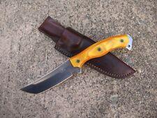 BUSSE Combat Ergo Public Defender Knife Custom Molded Leather Sheath BROWN - USA