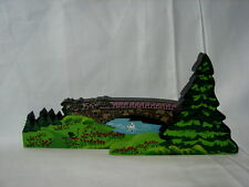 Shelia's Collectible 1999 Victorian Accessory Spring Break Bridge over Brook