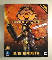 Dogs of War (PC, 2000) BIG BOX COMPLETE CIB NEAR MINT