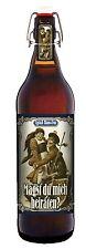 Heiratsantrag Bier 1 Liter Flasche mit Bügelverschluss Pils Geschenk Heiraten